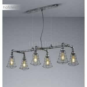 Trio Suspension 6 lampes design Gotham Gris Métal 307000688