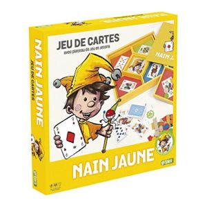 France Cartes Coffret en bois Nain jaune junior