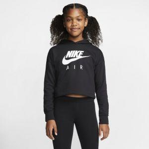 Nike Sweat shirt - Nsw air crop - Noir Fille 10ANS