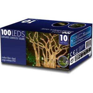 Temium Guirlande LED solaire étanche pour jardin