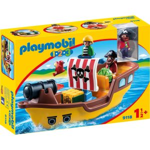 Playmobil 9118 - 1.2.3 : Bateau de pirates