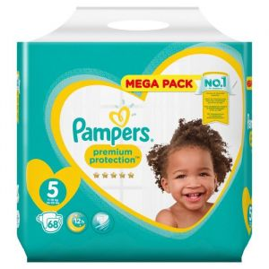 Pampers Premium Protection 5 - 68 Couches (11-16kg)