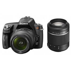 Sony Alpha A290Y (avec 2 objectifs 18-55mm et 55-200mm)