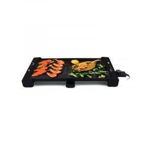 Little balance 8233 Plancha gril électrique 2100w 51.5x30cm happy plancha grill