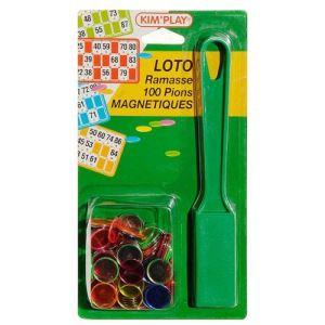Kim'play Kit loto ramasse jetons + 100 pions