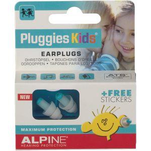 Alpine Pluggies Kids 2015 - Protection auditive pour enfants + Gratuit Autocollants