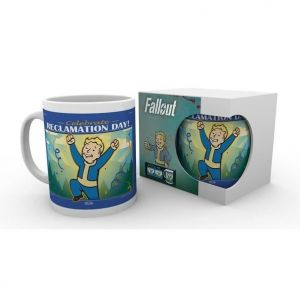 GB eye Mug Fallout 76 : Reclamation Day Mug Fallout 76 Reclamation Day. Mug 325 ml réclamation day sous licence Fallout. Fond bleu