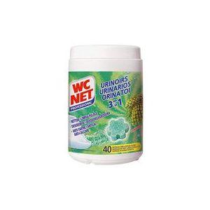 Wc net Bloc pour urinoirs fraîcheur pin - boîte de 750 g