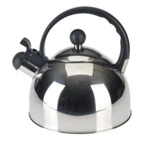 Axentia 220353 - Bouilloire à sifflet en inox 2,5 L