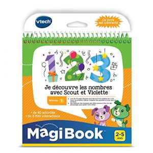 Vtech Magibook - Je découvre les nombres avec Scout et Violette