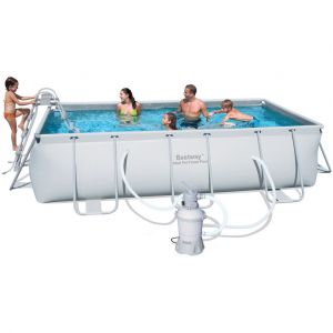 Bestway Kit piscine rectangulaire Frame Pools 6478 Litres