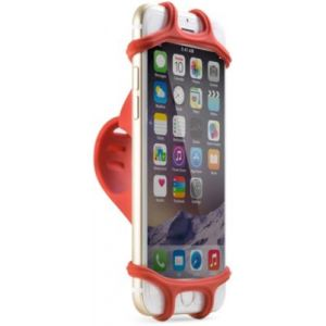 Bone Porte portable Bike tie Rouge