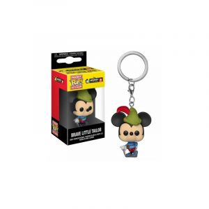 Funko Figurine - Pop - Porte-clés - Disney - Mickey - Brave Little Tailor Mickey