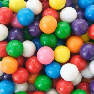 Boules de chewing gum pour distributeur (2.5 kg)