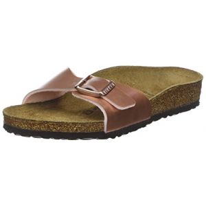 Image de Birkenstock Madrid, Mules Filles, Rose (Soft Metallic Rose Gold Soft Metallic Rose Gold), 30 EU