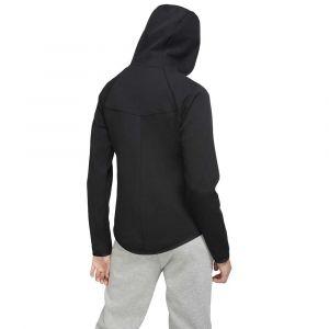 Nike Sweatà capuche à zip Sportswear Windrunner Tech Fleece pour Femme - Noir - Taille S - Female