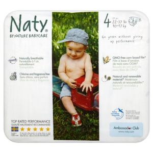 Naty Couche Naty taille 4 (7-18 kg) - paquets de 32