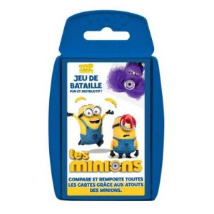 Winning Moves Jeu de cartes bataille Les Minions