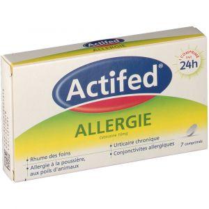 Johnson & Johnson Actifed Allergie - 7 comprimés
