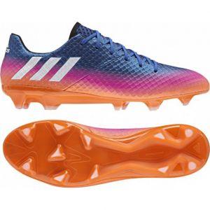 Adidas Messi 16.1 FG, pour Les Chaussures de Formation de Football - Homme - Bleu (Blu Azul/ftwbla/Narsol) - 44 EU
