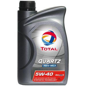 Total Quartz INEO MC3 5 W40 Huile moteur Tot-174776 = 1L