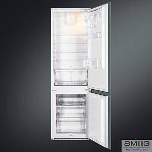 Smeg C3180F - Réfrigérateur combiné intégrable