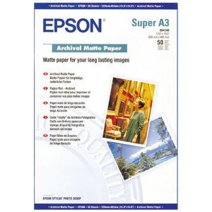 Epson C13S041340 - 50 feuilles de papier mat Archival 192g/m² (A3+)