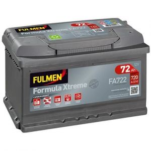 Fulmen Batterie auto XTREME FA722 (+ droite) 12V 72AH 720A