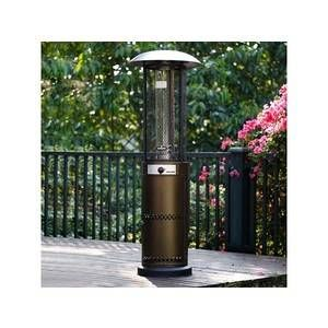 Image de Habitat et Jardin Parasol chauffant Relax 2 - 10.5 kW - Bronze