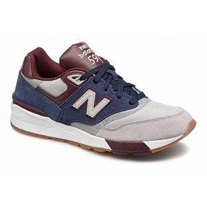 New Balance Ml597 chaussures bleu gris bordeaux 44 EU