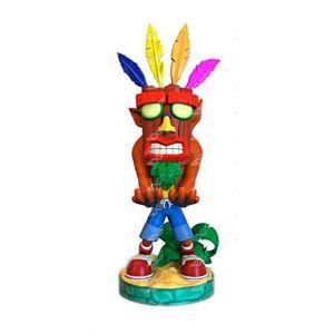 Figurine - Crash Bandicoot Aku Cable Guy - Support Manette/Téléphone