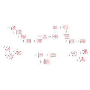 Domino Fractions et graphiques