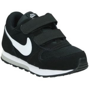 Nike MD Runner 2 (TD), Sneakers Basses bébé garçon, Noir (Black/White-Wolf Grey 001), 23.5 EU