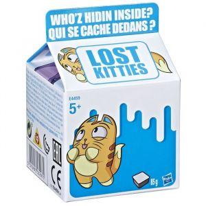 Hasbro Lost kitties - 1 brique de lait - aléatoire