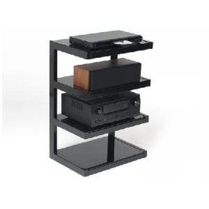 """Norstone Meuble TV Esse Hifi 4 tablettes pour écran 32"""" maximum jusqu'à 40 kg"""