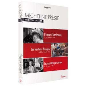 Coffret Actrice de Légende : Micheline Presle