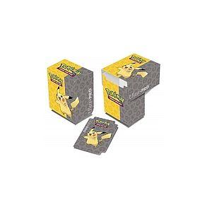 Asmodée Boîte rangement Pokémon Ultra-Pro - Deck Box Pikachu
