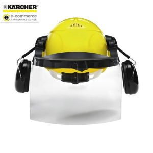 Kärcher 6.025-512.0 - Casque de sécurité avec visière et coquilles antibruit intégrées