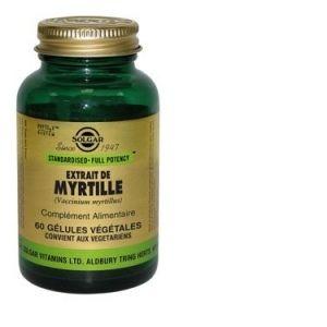 Solgar SFP Myrtille - 60 gélules