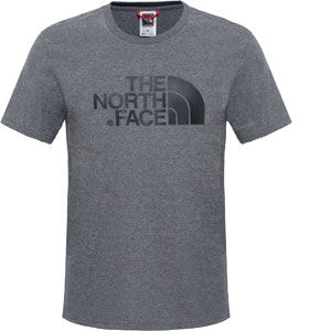The North Face S/S Easy Tee - T-shirt taille L, gris