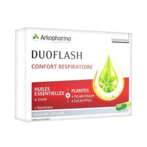 Arkopharma Duoflash Confort Respiratoire - 20 gélules
