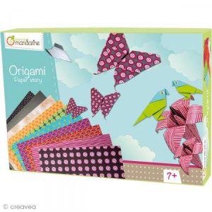 Avenue mandarine Boîte Créative Origami (42720O)