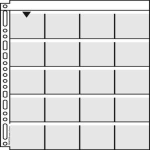 Panodia 10 feuillets de classement M56 pour diapositives 5X5 cm (21x29,7 cm)
