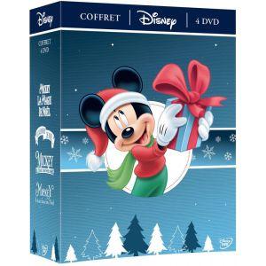 Coffret Disney 4 DVD : Mickey et la Magie Calendrier Deux Fois Noël