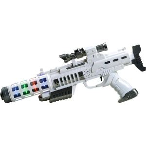 Simba Toys Pistolet Planet Fighter Light Blaster