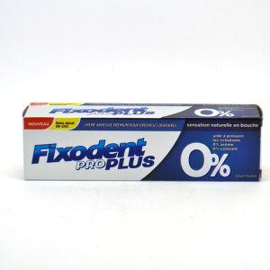 Fixodent Pro Plus 0% crème adhésive