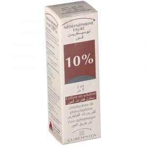 Europhta Néosynéphrine 10 % - Collyre 5 ml