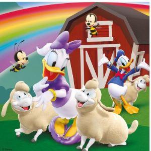 Ravensburger Puzzle Tout le monde aime Mickey 3 x 49 pièces