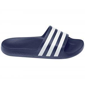 Adidas Adilette Aqua, Chaussures de Plage & Piscine mixte adulte - Bleu (Azul 000), 44 1/2 EU (10 UK)