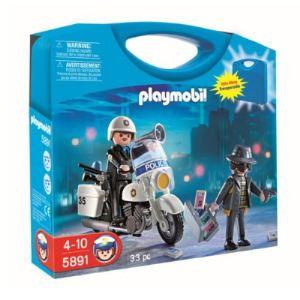 Playmobil 5891 - Valisette policier et voleur